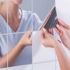Adesivo adesivi specchio specchi mosaico parete removibili casa decorazione 16