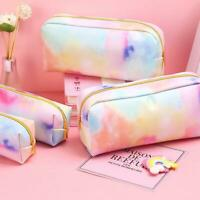 Kawaii Pencil Case Colorful Pink Pencil Bag School Supplies Stationery Girl Gift