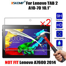 2Pcs Genuine Tempered Glass Screen Protector Guard For various Lenovo Tablets