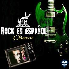 """Dj Video Mix ROCK EN ESPANOL -Los Clasicos- """"MANA/SODA/HEROES/ENANITOS"""" + Cd Mix"""