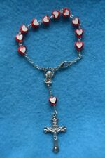Réf 15 bracelet religieux fille dizainier chrétien dévotion pèlerinage chapelet
