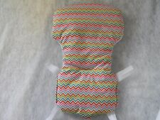 Eddie Bauer And Carter High Chair Cover in Multi Colored Chevron  ~~~WIPEABLE~~~