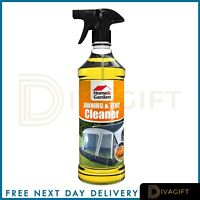Heavy Duty Camping Awning Tent Outdoor Fabrics Cleaner Removes Dirt Grease Stain