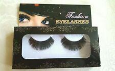 3D Natural Thic Fake Eye Lashes Handmade False Eyelashes Black + Hydrogen Eye Pa