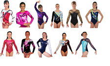 New! Child Small Clearance Gymnastics Competition Leotards - 13 to choose from