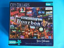 Down on Bourbon Street Puzzle 1000 pc SEALED! City Collages Buffalo Games