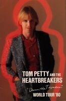 TOM PETTY 1980 DAMN THE TORPEDOES WORLD TOUR CONCERT PROGRAM BOOK / NMT 2 MINT