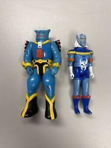 Vintage 1984 Voltron Prince Lotor & Robeast Scorpius Panosh Place Action Figures