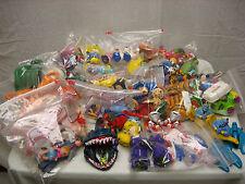 Vintage Kids Happy Meal Mcdonalds Burger King Arbys Disney 106 Piece Toys LOT