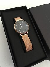 New Daniel Wellington Lady's Classic Petite Melrose 32mm Watch DW00100161 Mesh