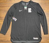 Nike LA Clippers Dri Fit NBA Player Issued Shooter Long Sleeve Mens Size X-Large