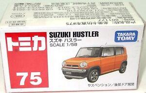 TOMY NO. 75 SUZUKI HUSTLER - NEW IMPORT IN SEALED BOX