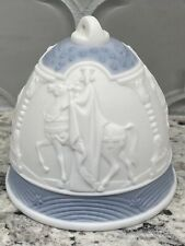 Lladro 1990 Porcelain Christmas Bell Tree Ornament #5641