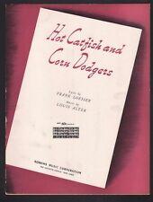 Hot Catfish and Corn Dodgers 1941 Sheet Music
