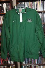 Nike Marshall The Herd Dark green 1/4 Zip  Jacket Clima fit Mens M (b84)