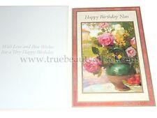 JOBLOT PACK OF 6 CARDS HAPPY BIRTHDAY NAN STRAWBERRY TEA MARIE-FELIX LUCAS ART