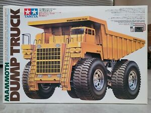 Rare New in Open Box Tamiya 58268 R/C 1/20 Mammoth Tipper Dump Bed Truck 4WD