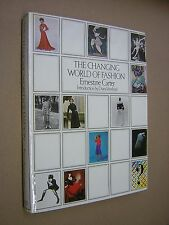 CHANGING WORLD OF FASHION 1900 to PRESENT. CARTER. 1977 1st EDITION HB in DJ