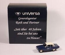 Bub 1:87 Ford Taunus 17M P3 Universa Versicherung Werbemodell SG OVP 9903-50-79