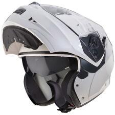Caberg Duke Flip up Front Metal White Medium Motorcycle Helmet