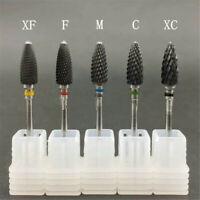 Ceramic Nail Art Grinding Drill Bits Bullet Bit Electric Manicure Mill Tip Tool