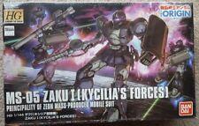 HG Mobile Suit Gundam THE ORIGIN MSD Zaku I (Kycilia`s Forces) 1/144 scale color