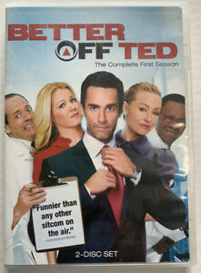 Better Off Ted: The Complete First Season (Dvd, 2009, Jay Harrington) Canadian