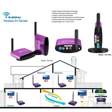 PAT-650 5.8GHz AV CCTV Camera DVR Wireless Transmitter Receiver Sender 300meters