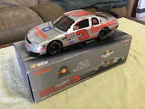1998 Action DALE EARNHARDT SR #3 Silver Select 1/18 SCALE Diecast NASCAR