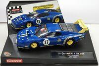 Carrera Evolution Ferrari 512 BB JMS Racing Le Mans 1980 1/32 Slot Car 27126