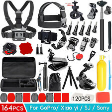 Accessories Pack Case Head Chest Monopod Bike Surf Mount for GoPro Hero3 4 5 6 7