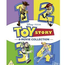 Toy Story 1-4 Kids Movie (DVD AU) 4 Movie Collection