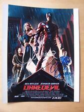 Autograph - 10 x 8 inch - Daredevil Cast