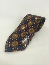 Loony Toons Neck Tie Mens Tie Bugs Bunny Wiley Coyote Daffy Marvin Cartoons