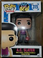 Funko POP! TV Figure - Saved by the Bell - A.C. SLATER - New in Damaged Box