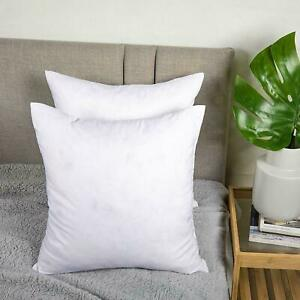 """Duck Feather Cushion Pads Inners Inserts Fillers 12"""" 14"""" 16"""" 18"""" 20"""" 22"""" 24"""" 30"""""""