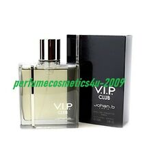 CLUB V.I.P. / VIP BY JOHAN B FOR MEN 3.4 OZ / 100 ML EAU DE TOILETTE SPRAY NIB
