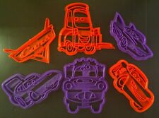 CARS THE MOVIE COOKIE CUTTERS (Lightning Mcqueen Cars Cookie Cutter Fondant ETC)