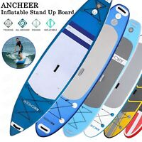 Ancheer 10'6' Inflatable Stand Up Paddle Board SUP W/ Adjustable Paddle Backpack