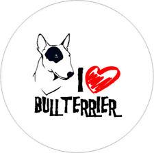 I Love Bullterrier [25mm Button]