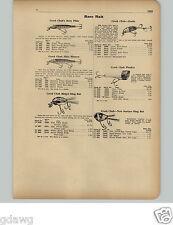 1951 PAPER AD Creek Chub Hot Shot Fishing Lure Lures Ding Bat Beetle Ding Bat