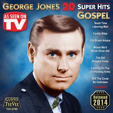 George Jones - 20 Super Hits Gospel [New CD]