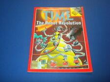 TIME MAGAZINE December 8,1980 ROBOT REVOLUTION ITALY QUAKE high grade NO LABEL