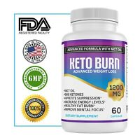 Keto Diet Pills Shark Tank BHB Weight Loss Supplement Burn Fat Carb Blocker Fit