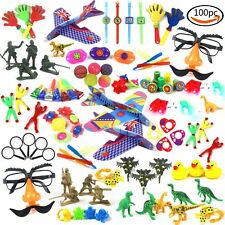 LoveS 100 Pc Party Favor Toy Assortment Kids Party Favor Birthday Party Holid...
