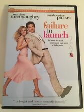 Failure To Launch DVD Opened  Sarah Jessica Parker Matthew McConaughey