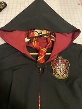 Harry Potter Gryffindor Robe, Neck Tie, And Glasses Child Size S 6-8 Custom Made