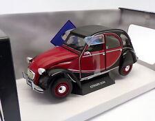 Solido Citroën 2CV Charleston 1:18 Voiture - Rouge/Noire (S1805013)