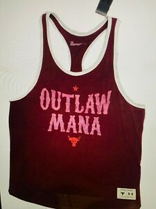 Under Armour Project Rock Men's Outlaw Mana Tank NEW Large
