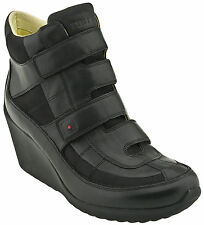 """TSUBO """"Peary Strap"""" Botte Talon compensé Cuir Women's Shoes US 6 EUR 37 rrp:179€"""